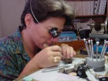 Cynthia Lubow in 1 on 1 Watch Repair Work Shop